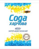 """Сода пищевая к/в, 1/400г/21 шт, ТМ """"Юна"""""""