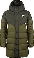 Куртка пуховая мужская Nike Windrunner, Зелёный, 50-52