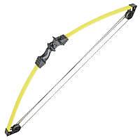 Лук Man Kung CB008 (длина: 860мм, сила натяжения: 5,6кг), желтый/черный, комплект