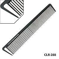Гребінець карбоновий антистатичний середньо-мелкозубый Christian CLR-288
