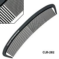 Гребінець карбоновий антистатичний середньо-мелкозубый напівкруглий Christian CLR-282