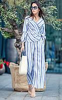 Женский летний льняной костюм «Круиз», фото 1