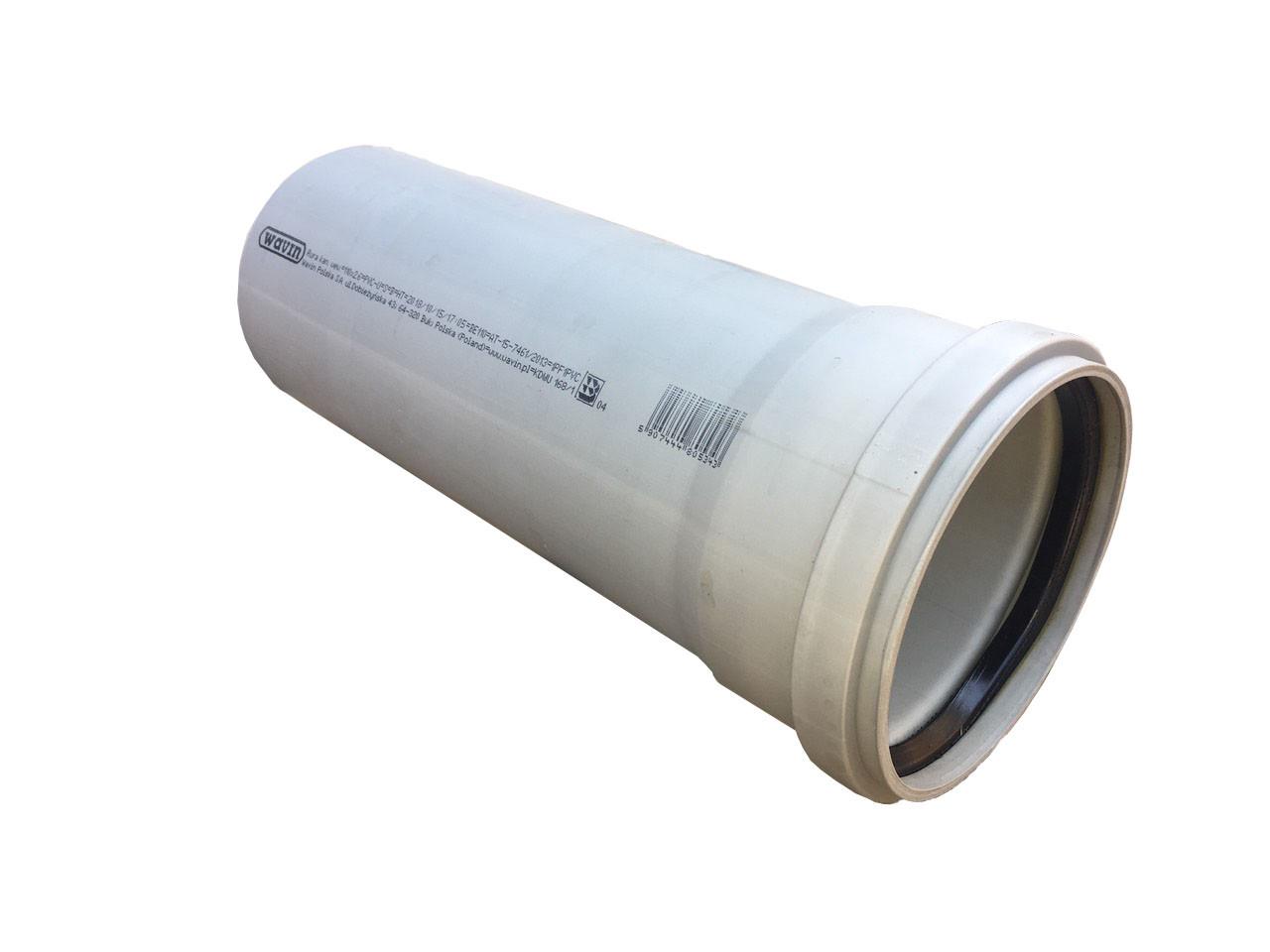 Труба для внутренней канализации 110*0.25 метра wavin