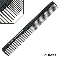 Гребінець карбоновий антистатичний середньо-мелкозубый Christian CLR-297