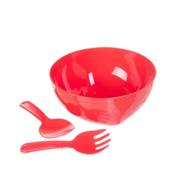Набор для салата HOBBY 5 л Красный 3 предмета 031249-ko