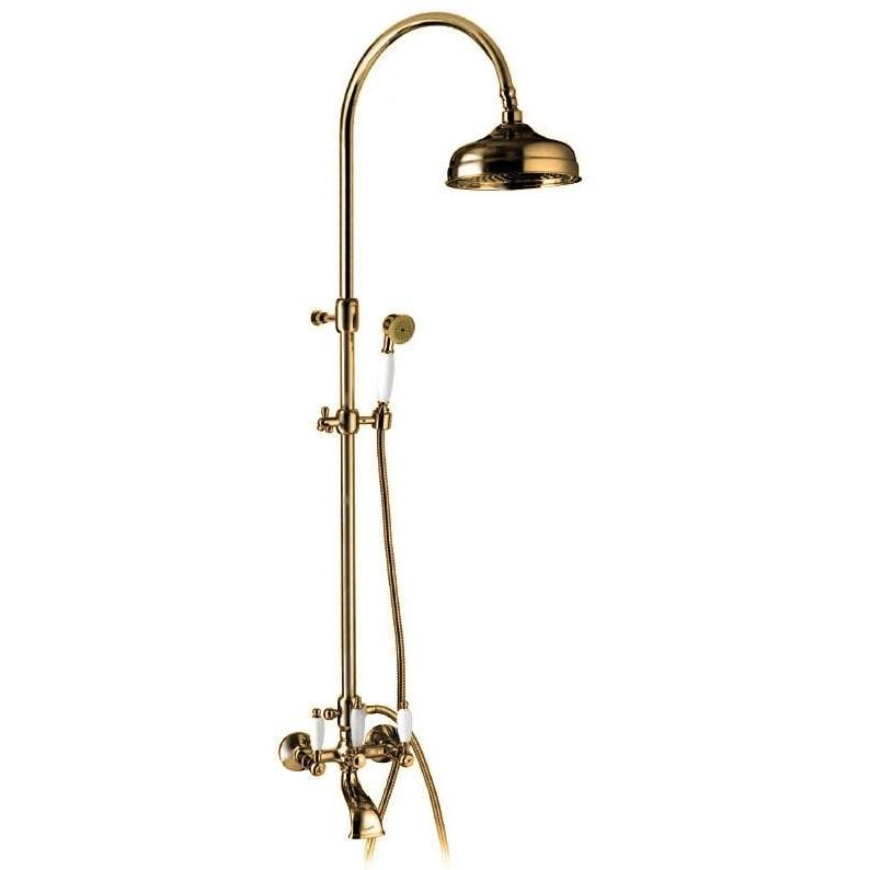 Смеситель для ванной Emmevi DECO ceramica колонна бронза BR12161181