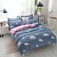 Комплект постельного белья Облако с простынью на резинке (полуторный) Berni