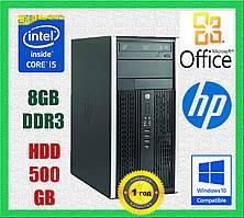 Компьютер БУ HP 8300 MT Intel Core i5-2400 3.10GHz, RAM 8GB, HDD 500GB
