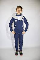 Спортивный  демисезонный подростковый костюм (Украина) для мальчика с капюшоном  , 140-146-152-158-164 рост