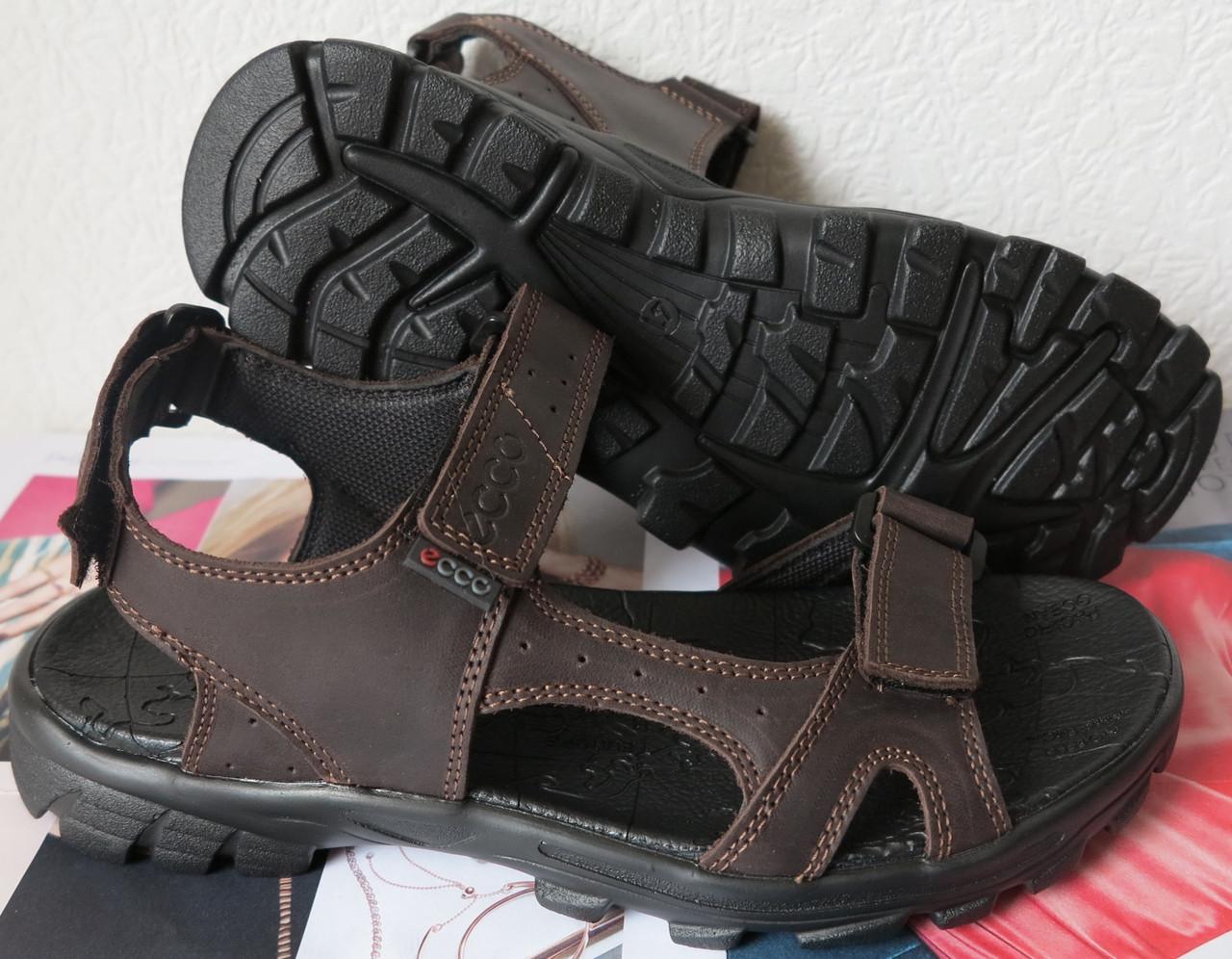 7cd8517d399dbe Шкіряні чоловічі сандалі літо натуральна шкіра коричневі чоловічі босоніжки  Ессо комфорт