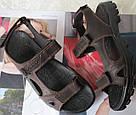 37337e71579bdd Шкіряні чоловічі сандалі літо натуральна шкіра коричневі чоловічі босоніжки  Ессо комфорт, фото 5