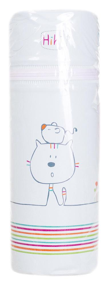 Термоконтейнер Ceba Baby Standard 63*63*225мм  светло-бирюзовый (кот, мышь)