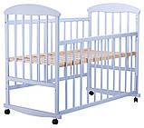 Кровать Наталка ОГ  ольха голубая, фото 2