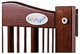 Кровать Babyroom Веселка маятник, откидной бок DVMO-2  бук орех, фото 5