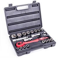 Профессиональный набор инструмента, 21 ед., INTERTOOL (ET-6021)
