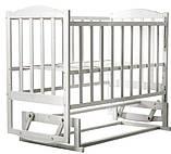 Кровать Babyroom Зайчонок Z202 маятник  слоновая кость, фото 2