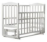 Кровать Babyroom Зайчонок Z202 маятник  слоновая кость, фото 3