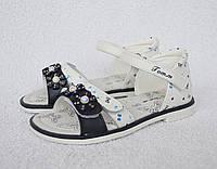 Босоножки для девочки ТомМ. 25-30 размер. Модель 51-65D. Кожа, супинатор, каблук.