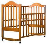 Кровать Babyroom Дина D104  тик, фото 2