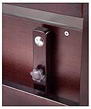 Кровать Babyroom Дина D303 маятник, ящик  венге, фото 6