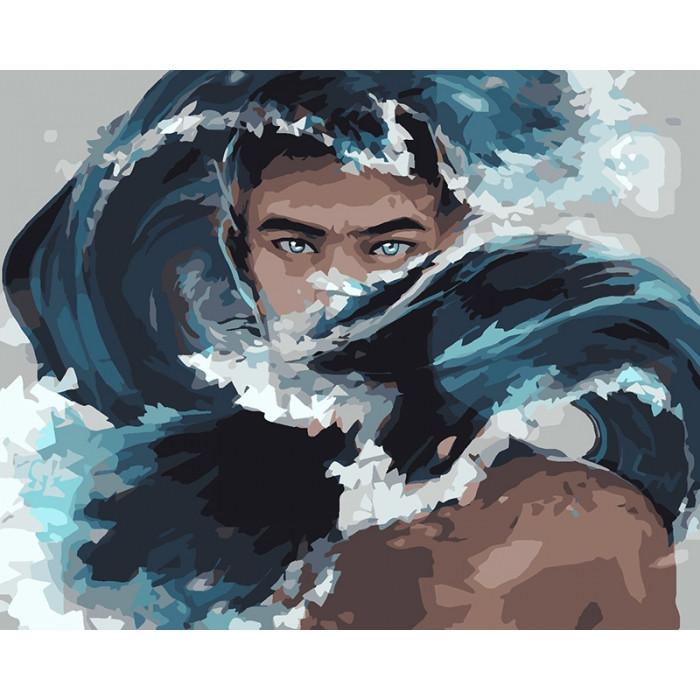 Картина по номерам Аквамен, 40x50 см., Идейка