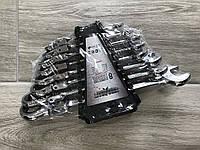 💡Набор рожково-накидных ключей с трещеткой на кардане 8 шт Euro craft