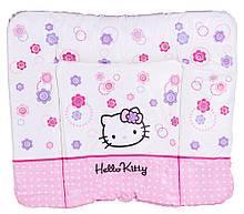 Пеленальний матрац Ceba Baby WD 85*70 multi hello kitty білий