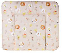 Пеленальний матрац Ceba Baby WD 85*70 multi коти бежевий