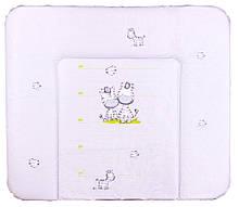Пеленальний матрац Ceba Baby WD 85*70 multi зебри сірий