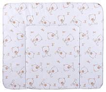 Пеленальний матрац Ceba Baby WD 85*70 multi ведмедики білий