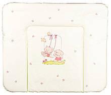 Пеленальний матрац Ceba Baby WD 85*70 multi cat & dog салатовий