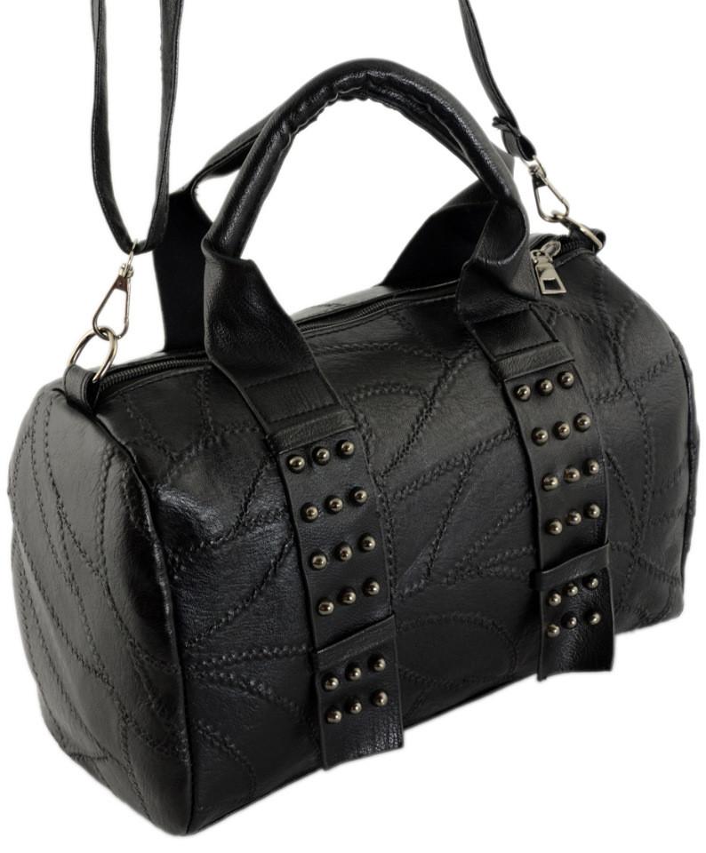 Женская сумка TRAUM 7226-30 кожзам черный