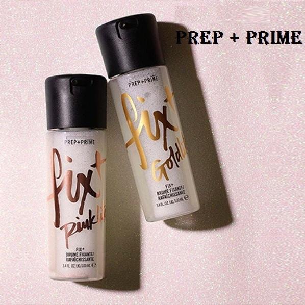 Фиксатор макияжа МАК FIX + PREP + PRIME 100 ml Gold