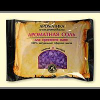 Соль черного моря для ванн Ароматика Лаванда-Шалфей, Вес 100 г.