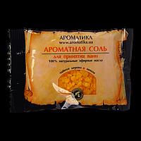 Соль черного моря для ванн Ароматика Чайное дерево-Лимон, Вес 100 г.