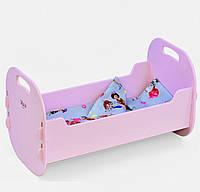 """Кровать для кукол деревянная """"Мася"""" арт. 8003, фото 1"""