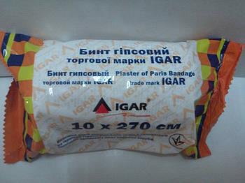 Бинт гiпсовий 10 см. х 2,7 м (IГАР)