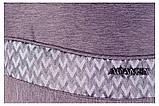Коляска 2 в 1 Adamex Monte Deluxe Carbon D28 серый лен - серый (крупный узор), фото 9