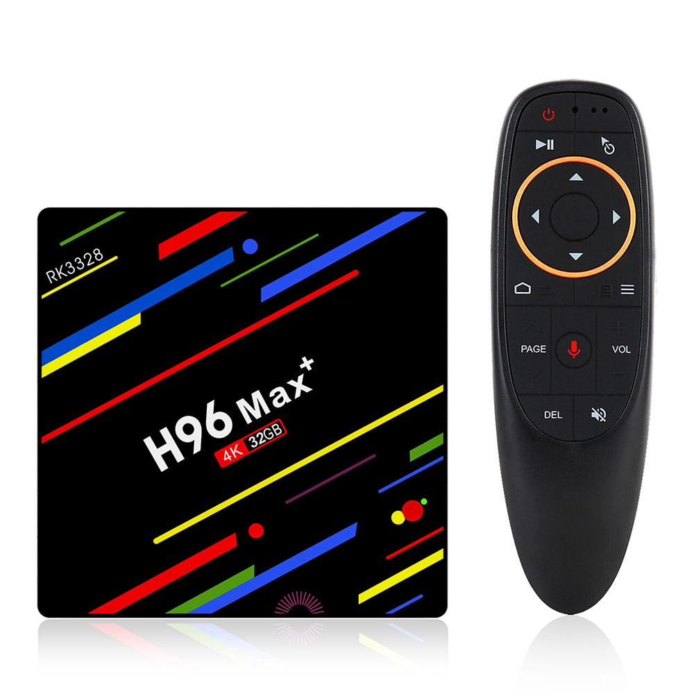 Смарт ТВ медиаплеер приставка TV Box Андроид Smart TV  SmartTV  H96 MAX Plus 4/32 GB