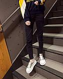 Серебряные кроссовки на высокой цветной белой подошве, фото 3