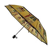 Женский полуавтоматический зонтик Lima на 8 спиц с цветочным принтом, 310-5