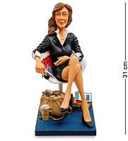 "Статуэтка ""Бизнес-леди"" 31 см., полистоун Forchino, Франция"