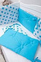 Бампер на кроватку Twins Premium стеганый