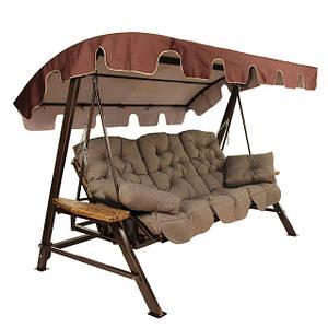 Садовые качели, кресла качалки