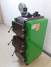 Твердотопливный котел SteelArt SA-15 кВт длительного горения 6 мм, фото 2