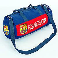 841f8c863798 Сумка для тренировок с символикой футбольного клуба BARCELONA GA-5633-1  синий-красный