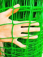 """Забор садовый, пластиковый, ячейка 50х50мм, 1х20м """"Клевер"""" Украина"""