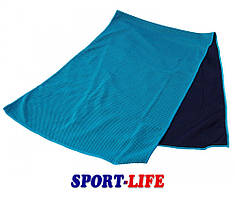Охлаждающее полотенце LiveUp COOLING TOWEL, синий
