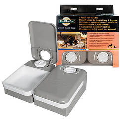 PetSafe Eatwell 2 Meal Pet Feader  автоматическая кормушка для котов и собак с таймером на 2 порции
