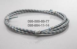 Шланг топливный на 2 бака МТЗ 70-1101345-Б1  (в металевій обмотці)